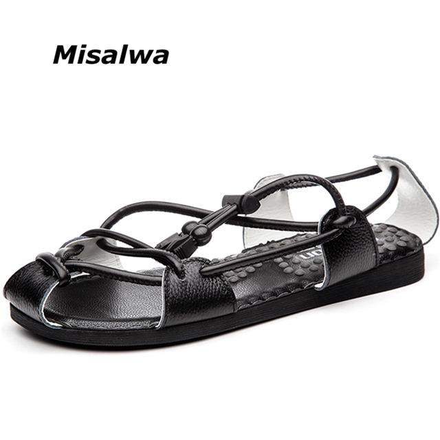 977fc11b570f3 Misalwa New Style 2019 Men Casual Sandals Fashion Men Beach Shoes  Breathable Summer Men Sandals