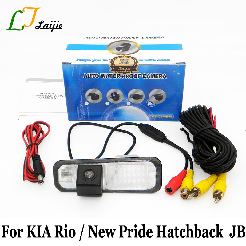 KIA Rio New Pride Hatchback / Rio5 (JB) 2005 ~ 2011 / HD širokoúhlý objektiv Úhlopříčka / CCD noční vidění parkovací parkovací kamera