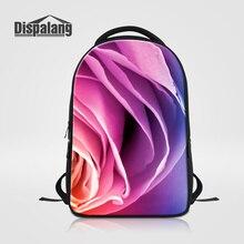 Dispalang большой Ёмкость женские туристические рюкзаки для ноутбука Роза школьная сумка Bookbags для подростков модная одежда для девочек спортивные