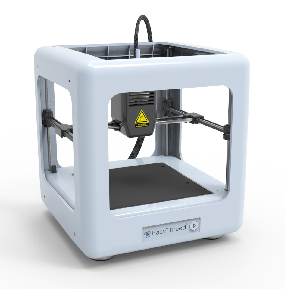 Easythreed Desktop 3D Printer Fully Enclosed  with One Key Support Self- Designed Slice Software PLA Filament SD Card 3D PrinterEasythreed Desktop 3D Printer Fully Enclosed  with One Key Support Self- Designed Slice Software PLA Filament SD Card 3D Printer