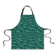 Math Themed Kitchen Apron