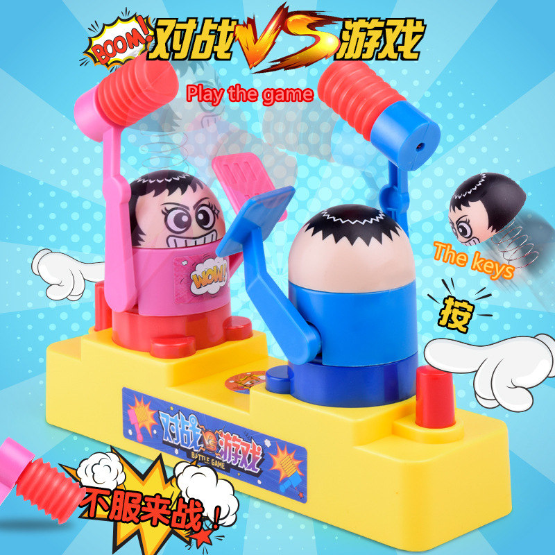 Educational Parent child Interaction Game Against Man Hit Head Children Action Toy Figures Fighting Boxing Puppets