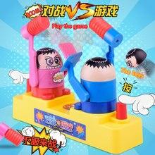 Обучающая игра для родителей и детей против человека, ударная голова, детские игрушки, фигурки, боевые боксерские куклы, экшн-игрушки