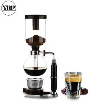YRP Japanese Style Coffee Syphon Pot 3/5 cups Siphon Coffee Drip Kettle Vacuum Filter Pot Cafetera TCA-3/5 Syphon Coffee Maker - DISCOUNT ITEM  37% OFF All Category