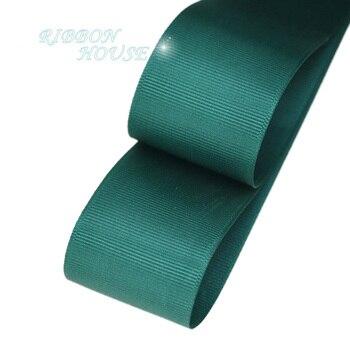 (5 metros/lote), 40mm, lazo grogrén verde oscuro, venta al por mayor, papel de regalo, cintas de decoración navideña