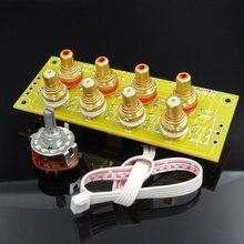 4 yollu manuel amplifikatör sinyal seçimi kaynağı seçim amplifikatör sinyal kartı giriş seçimi kurulu sinyal anahtarlama paneli