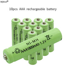 купить AAA 1.2v NIMH Battery 3A 1800mah aaa Rechargeable   ni-mh batteries  battery дешево
