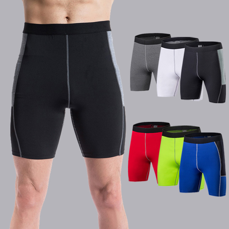 New 2017 Mens Camo Fitness Compression Shorts Fashion Tights Wicking Shorts Bermuda Power Train Workout Short bermuda masculina