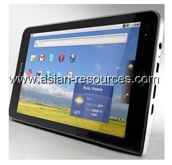 """Wholesale Free Shipping Dreambook 7"""" Multitouch Android 2.2 GPS 3G Tablet Phone"""