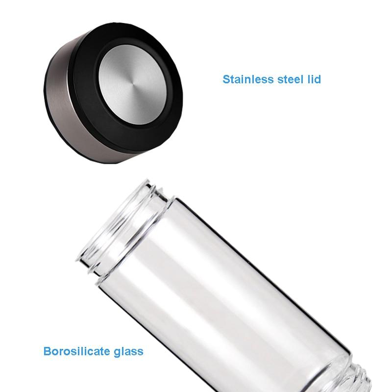 500ML富氢发生器便携式滤水器电离器H2 PEM碱性氢瓶电解饮料氢(6)