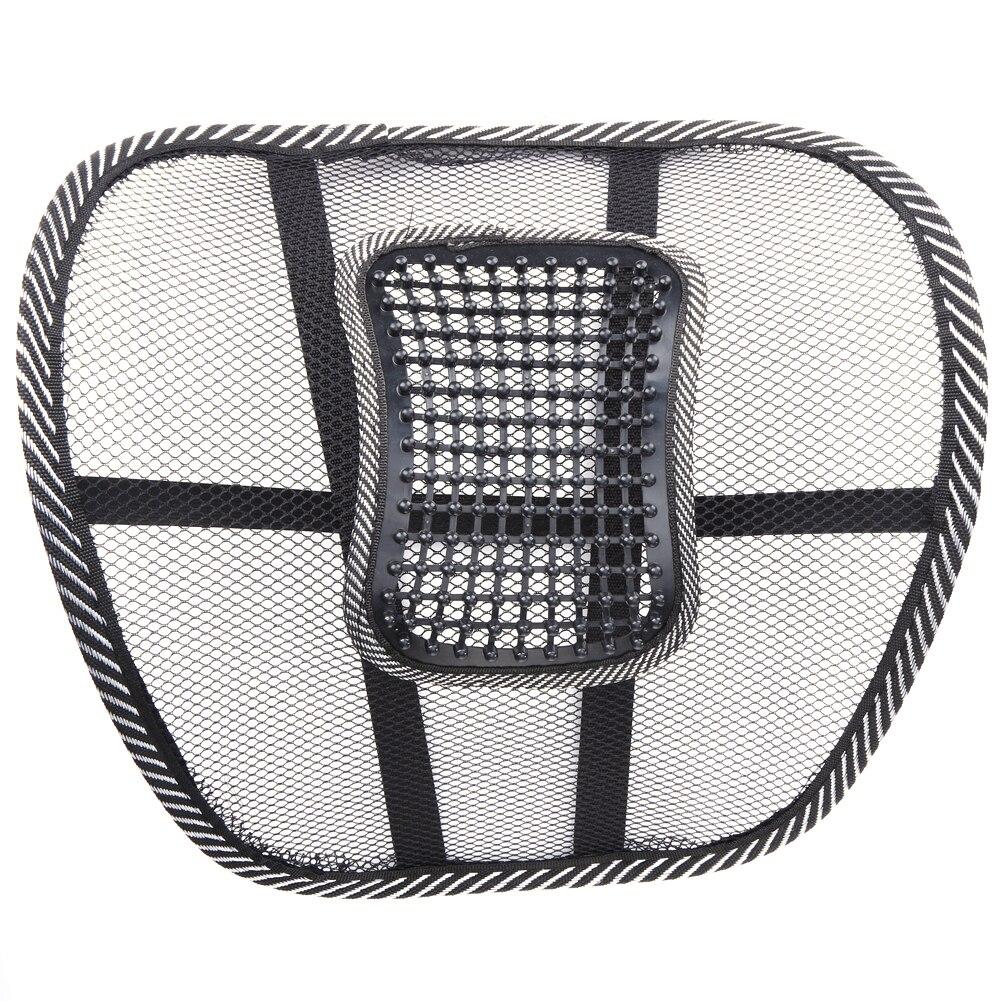 2Pcs Massage Car Cushion Seat Back Mesh/Hollow Cloth Support Lumbar Waist Chair Massage Back Pillow for Cars Home Office New