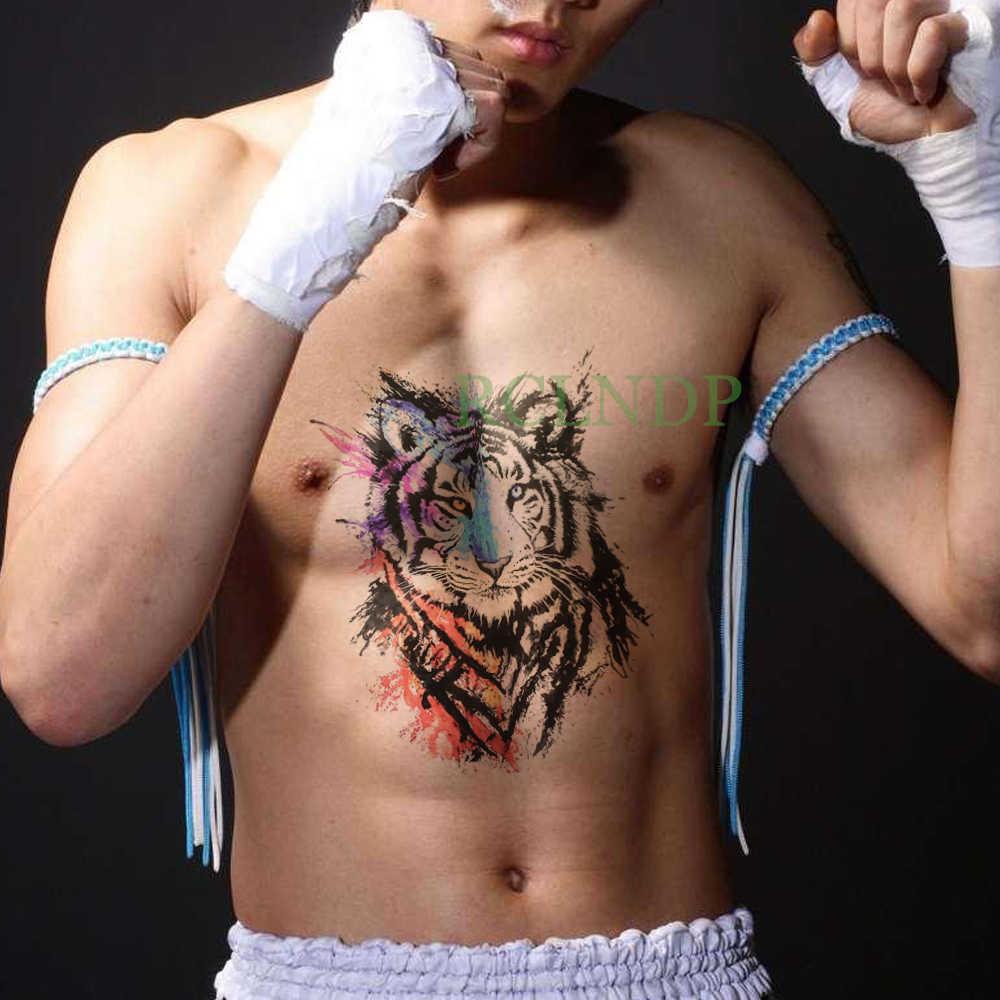 Wodoodporna tymczasowa naklejka tatuaż skrzydła orła fałszywe Tatto Flash Tatoo powrót noga ramię pierś brzuch duży rozmiar dla kobiet dziewczyna mężczyzn