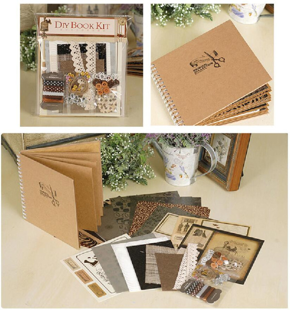 Diy Wedding Album Ideas: 2018 Best Gift Complete Scrapbook Kit For Family/Friend