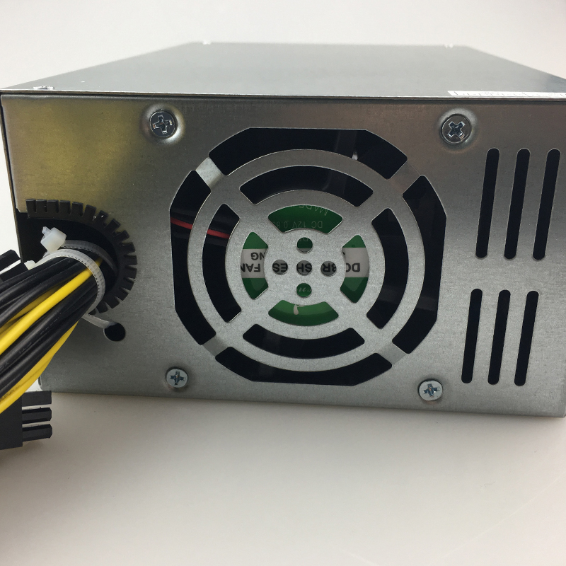 Купить с кэшбэком free ship 1800W 12V psu Miner Mining Power Supply For A6 A7 S5 S7 S9 B3 C9 D3 E9 L3+ R4 Power Supply For BTC bitmain antminer s9