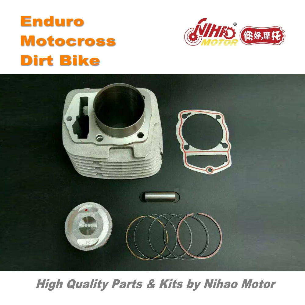 цена на 01 Motocross Parts ZONGSHEN CB250 Cylinder kit performance Irbis Enduro Kit Dirt bike spare cross Nihao Motor for Husqvarna We