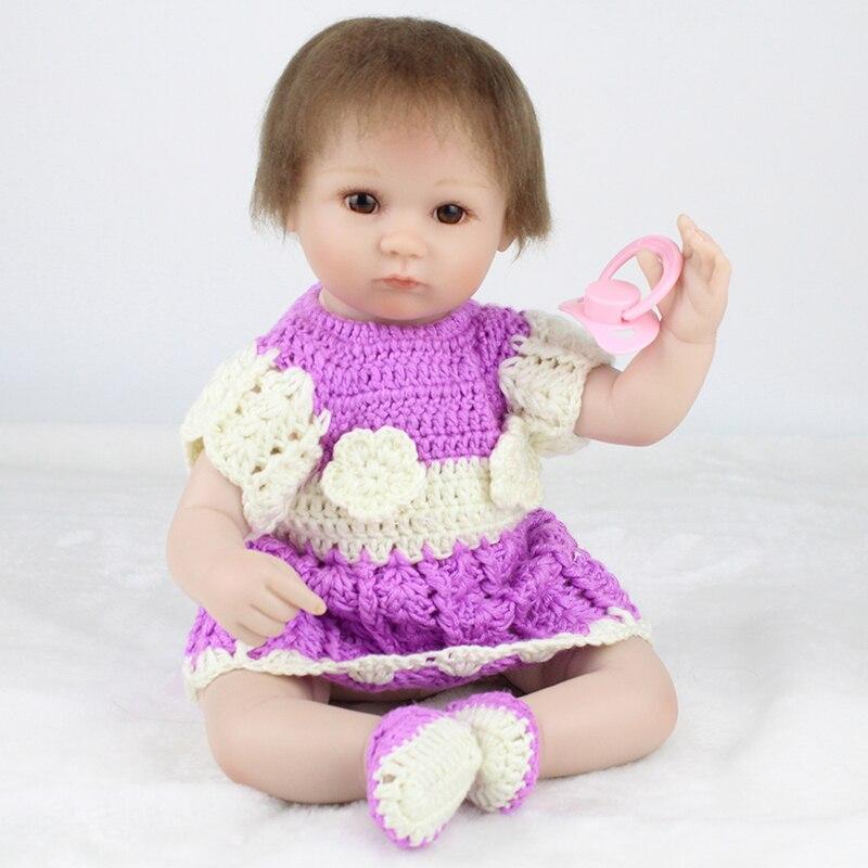 16 pouces Silicone souple Reborn bébé poupées 40 cm tissu corps nouveau-né Boneca reborn Realista pour les jouets pour enfants poupées de mode