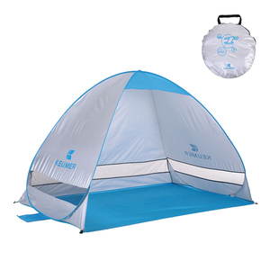 Image 2 - 200*120*130cm Outdoor Automatic Instant Pop up Portable Beach Tent Anti UV Shelter Camping Fishing Hiking Picnic Outdoor Camping
