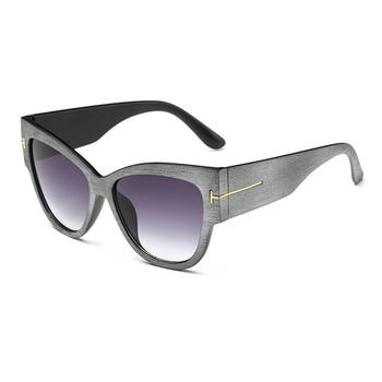 2016 New Fashion Cat Eye tf Sunglasses Women Brand Designer Vintage Luxury Street Snap Sun Glasses retro De Sol Feminino Gafas 10