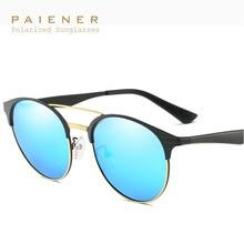 2017 new alloy frame polarized óculos de sol homens mulheres marca designer vintage óculos de sol cat eye óculos oculos de sol feminino