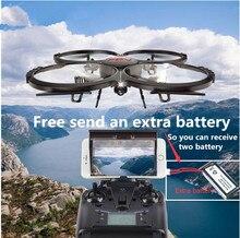 Дополнительный аккумулятор Wifi FPV rc drone U919A обновление версии Дистанционного Управления Вертолетом Quadcopter 6 Оси U818a Гироскоп отношение hode