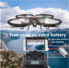 An extra battery Wifi FPV rc drone U818a U919A upgrade version Remote Control Helicopter Quadcopter 6Axis Gyro attitude hode