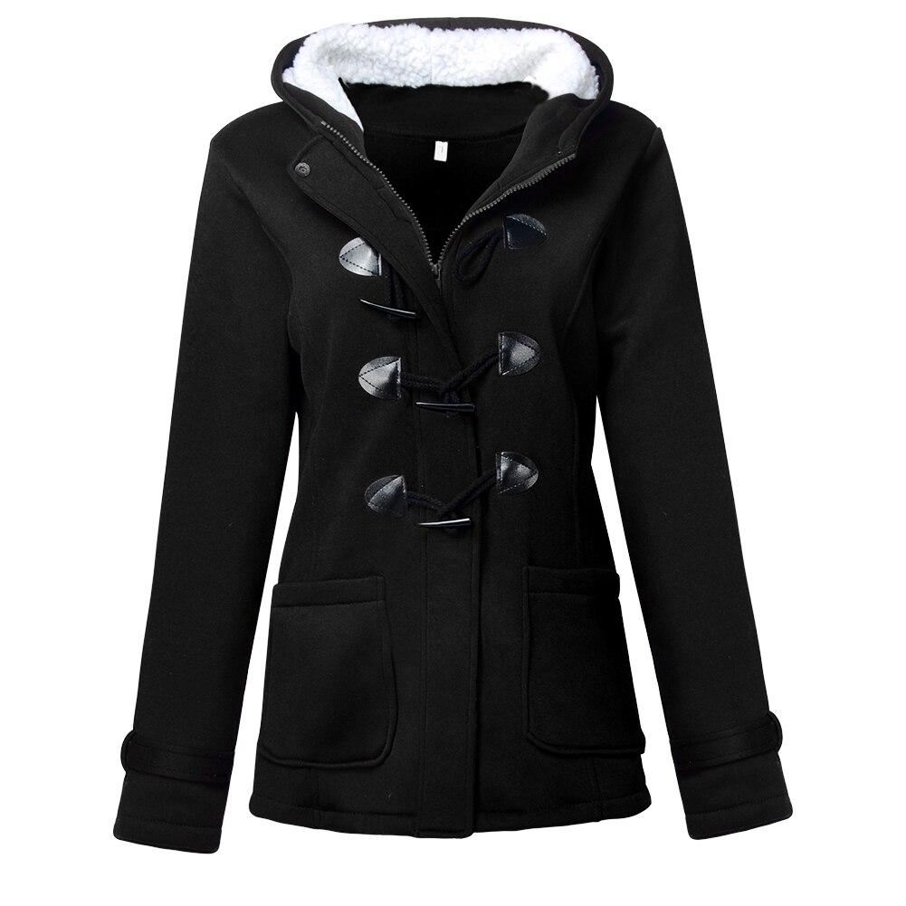 Women's Warm Coat Jacket Outwear Winter Hooded Long Parka Overcoat Tops