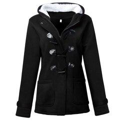 Women's Warm Coat Jacket Outwear Winter Hooded Long Parka Overcoat Tops 1