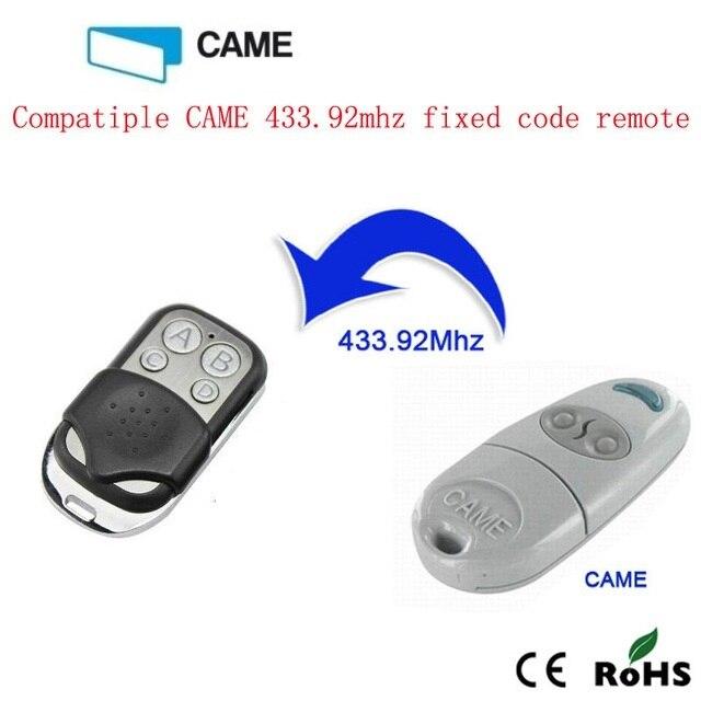 43392mhz Copy Came Top432na Remote Control Garage Doorgate