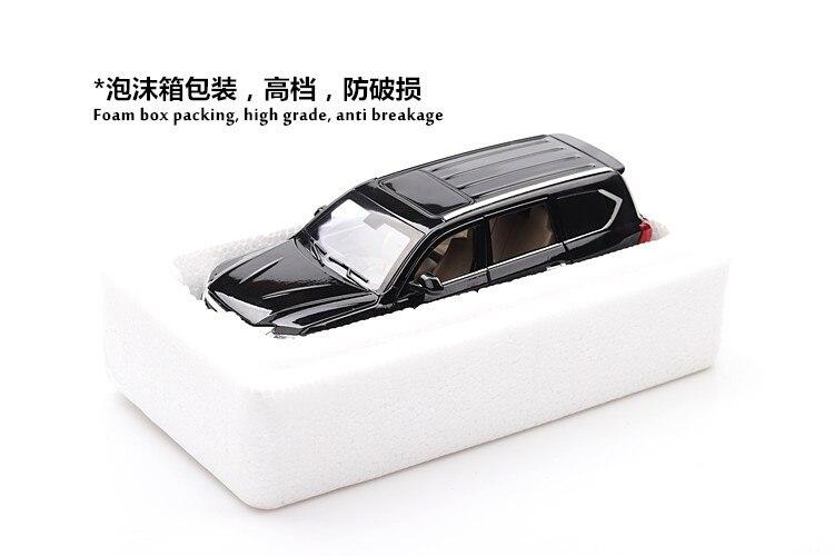 Lexus Lx570 Model Car SUV with Lights 16