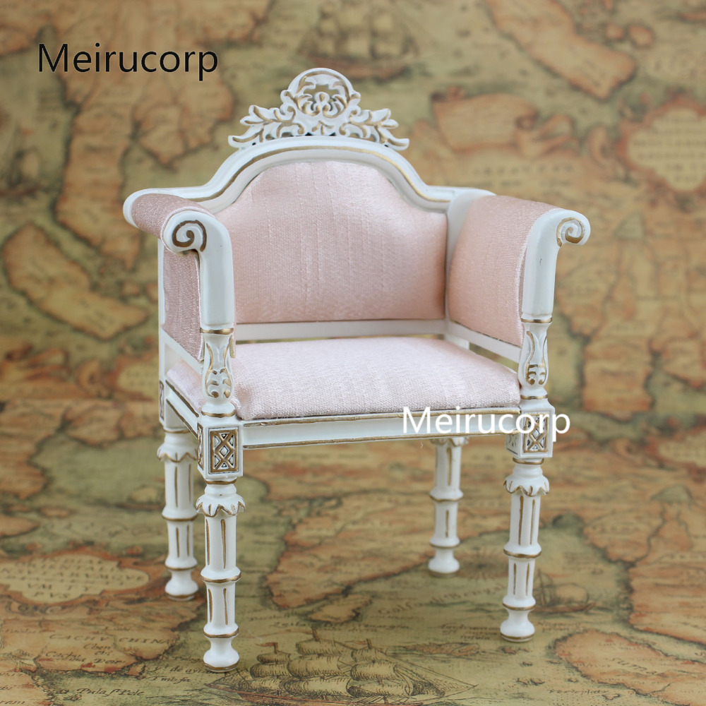 1:6 scale Fine Dolls Furniture Pink Fabric chair Model повседневные брюки ecko 10deep black scale pink dolphin