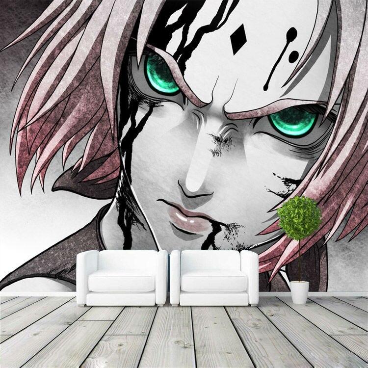 Achetez en gros japonais conception papier peint en ligne for Decoration murale naruto