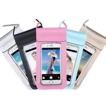Перейти на Алиэкспресс и купить Универсальный Водонепроницаемый Чехол для телефона Oukitel C10 Pro C12 C13 C15 C11 Plus C9 K10 K10000 Mix K8 U25 Pro WP1 WP2 сумка чехол