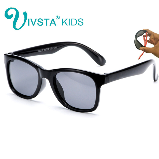 01ad607962c IVSTA 825 B Baby Sunglasses infant Children Sun Glasses for Boys Cool Soft Silicone  Flexible Rubber Polarized Lenses safe