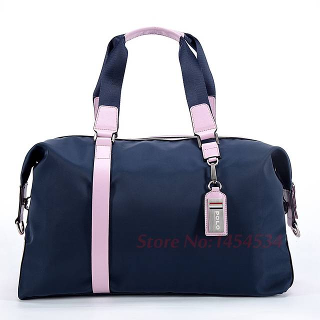 56164c96f02a Online Shop POLO New Clothing Bag Lady Hold-all Shoulder Bag Waterproof  Golf Travel Handbag Bag Sport Package Nylon + First Layer of Leather