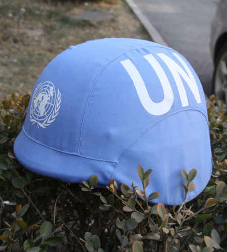 United Nations Peacekeeping Force Taktis Milspec M88 Penutup Helm