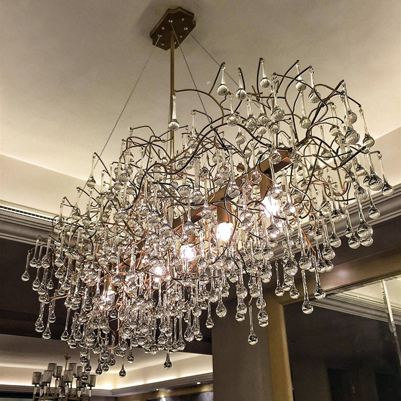 Rectangle Chandeliers: rectangular chandelier dining room rectangle chandelier for kitchen dining  room led kitchen chandeliers individualization(China,Lighting
