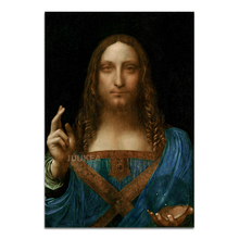 Salvator Mundi Painting Poster
