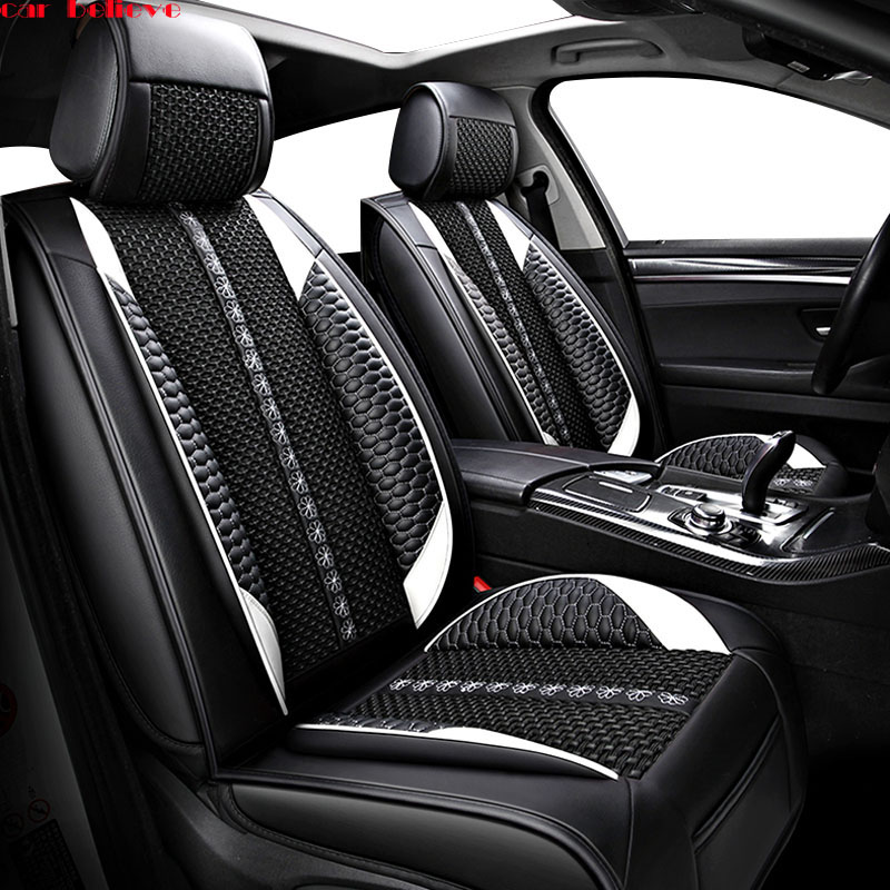 Car Believe car seat cover For Toyota corolla chr auris wish aygo prius avensis camry 40