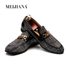 MEIJIANA 2019 New Slip On Loafers Men Leather Men Casual Shoes Fashion Wedding Party Men Men Dress Shoes Handmade Loafers