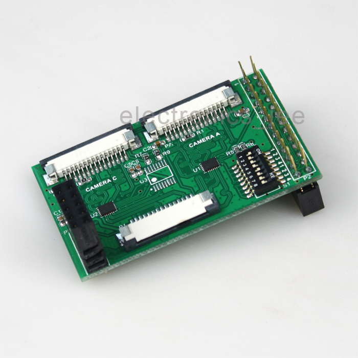 US $49 99 |Multi camera Adapter module fully compatible for official  Raspberry Pi A/B/B+ /Pi 2-in Other Electronic Accessories from Electronic