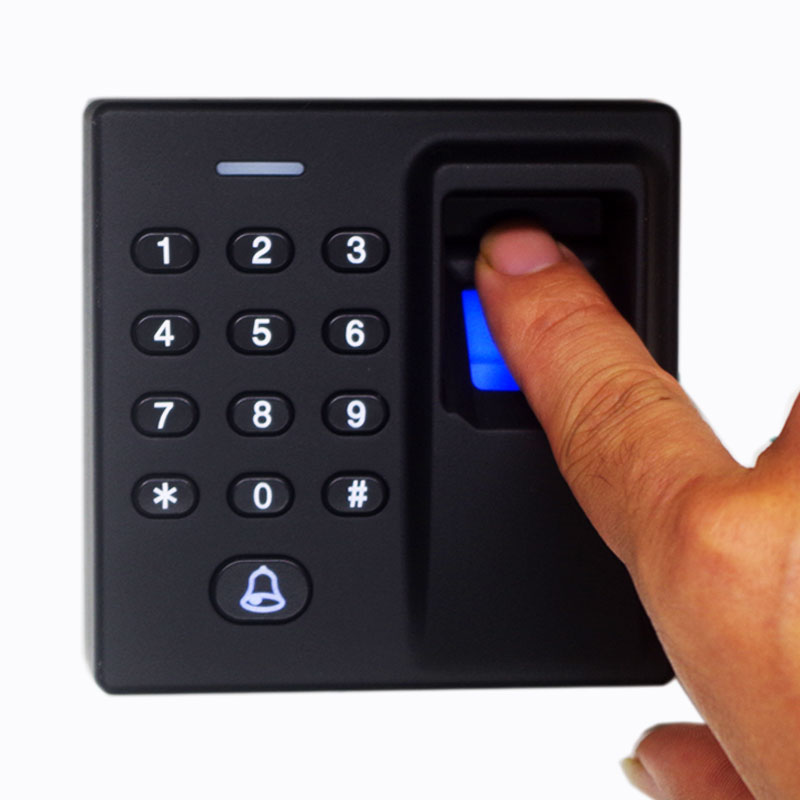 Free Shipping Fingerprint Access Control a System Fingerprint for Open a Door Finger Print MINI FP Access Control Wiegand output biometric face and fingerprint access controller tcp ip zk multibio700 facial time attendance and door security control system