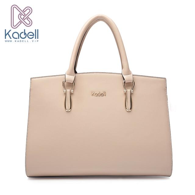 Kadell Роскошные брендовые Для женщин кожа Сумки Bolsa feminina большой Ёмкость элегантные дамы сумка для Бизнес пати сумки