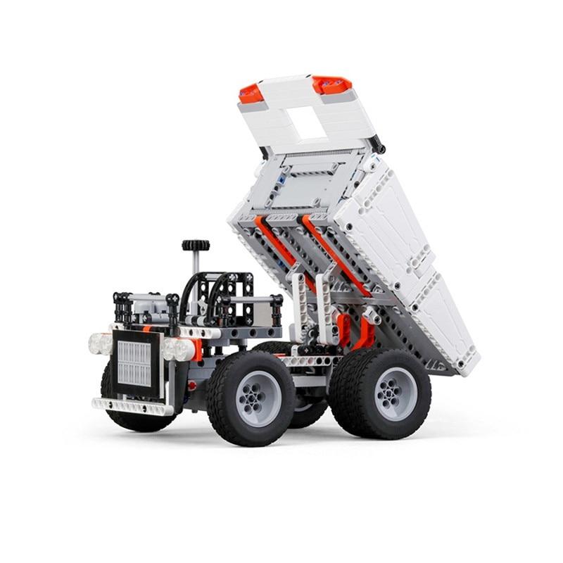 Xiaomi Mitu Building Blocks Toys Mining Truck Educational Kids Toys Models Steering Wheel Control System For Kid Gift Present