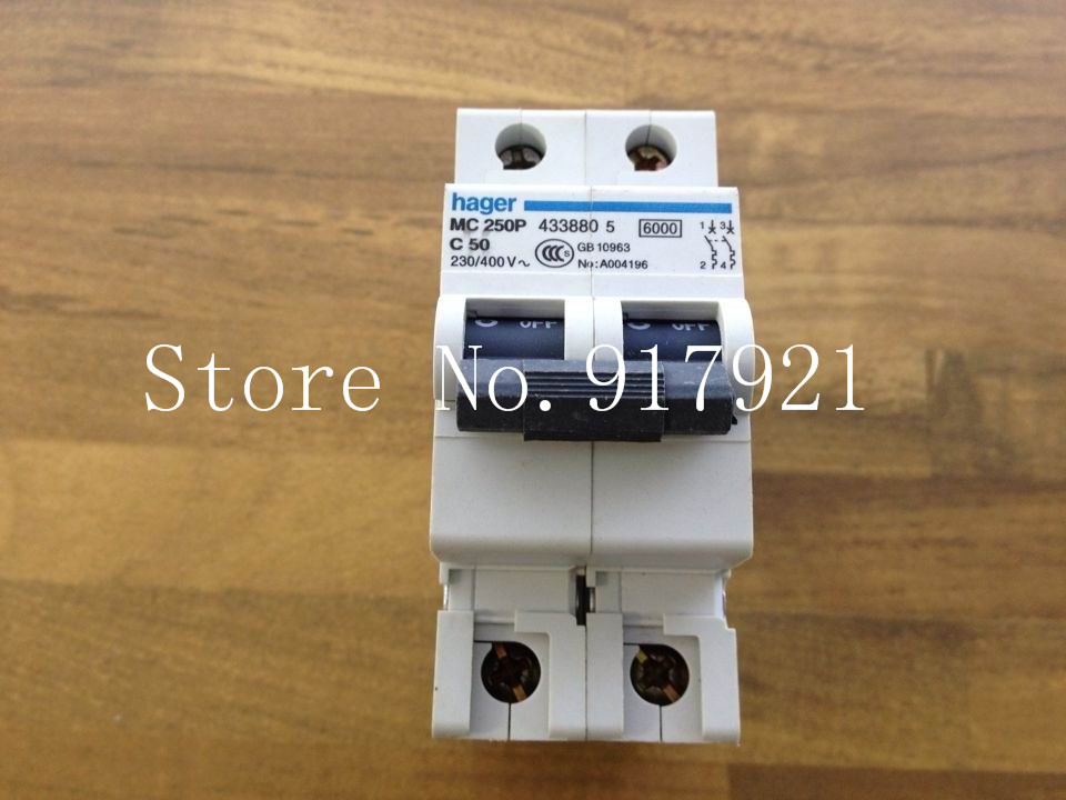 [ZOB] Hagrid MC250P miniature circuit breaker 2P50A  --5pcs/lot