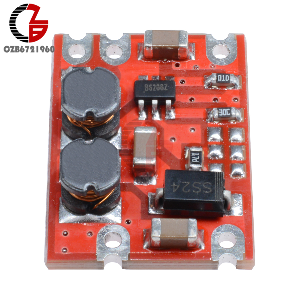DC-DC модуль преобразователя с автоматическим повышением напряжения постоянного тока 2,5-15 В постоянного тока 3,3 В 4,2 в 5 в 9 в 12 В понижающий регулятор напряжения инвертор питания