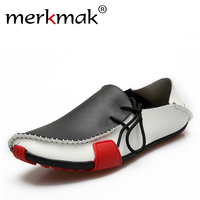 Men S Fashion Leather Gommino Sneakers Loafer Driver S Boat Casual Shoes Wholesale Free Shipping LS012