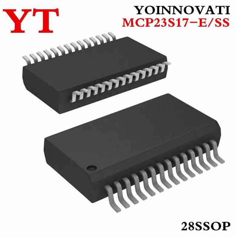 10 sztuk/partii MCP23S17-E/SS MCP23S17ESS MCP23S17-E MCP23S17 I/O EXPANDER SPI 16B 28SSOP najwyższej jakości.
