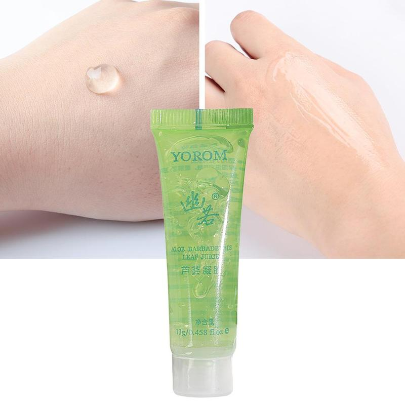1pc Aloe Vera Gel Face Moisturizer Anti Wrinkle Cream Acne Whitening Moisturizing Beauty Skin Care Facial Cream After Sun Repair