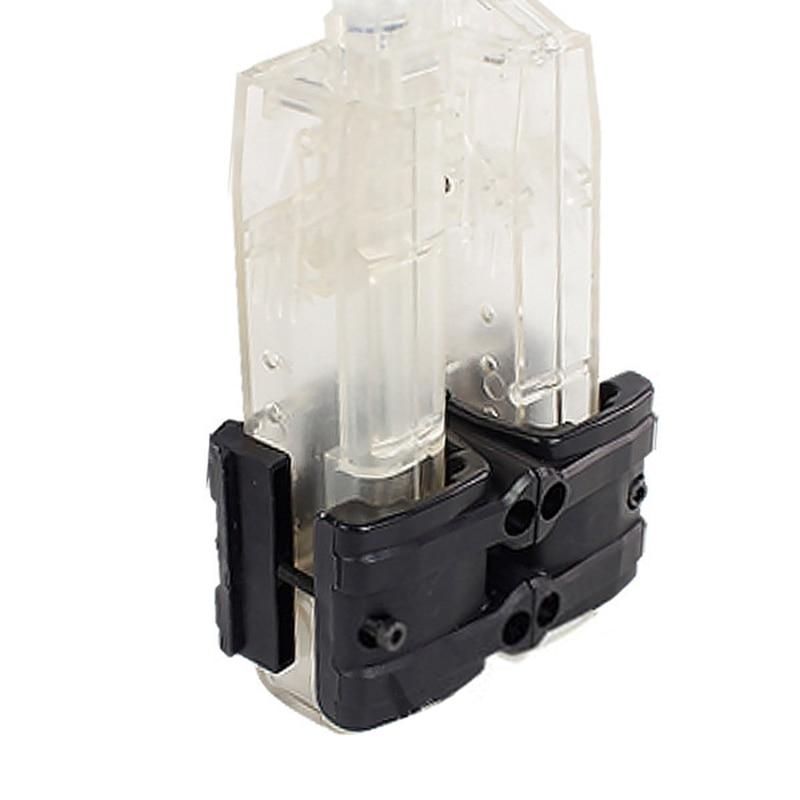 bcc458f75 MP5/MP7/G17/G18 Titular Clipe de Arma Rifle Tático Mag Rápido Acoplador