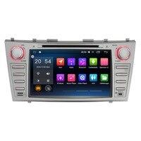 8 2 DIN Android 6.0 Автомобильный Мультимедийный Плеер для Toyota Camry 2007 2011 без DVD стерео бесплатная Географические карты Аудиомагнитолы автомобильны